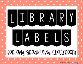 This product is perfect for your classroom library! There are 12 different genres to use and there are 6 different colors to choose from. This helped me organize my classroom library so well. I bought plastic storage tubs from Dollar Tree and put one label on the outside of each of them.