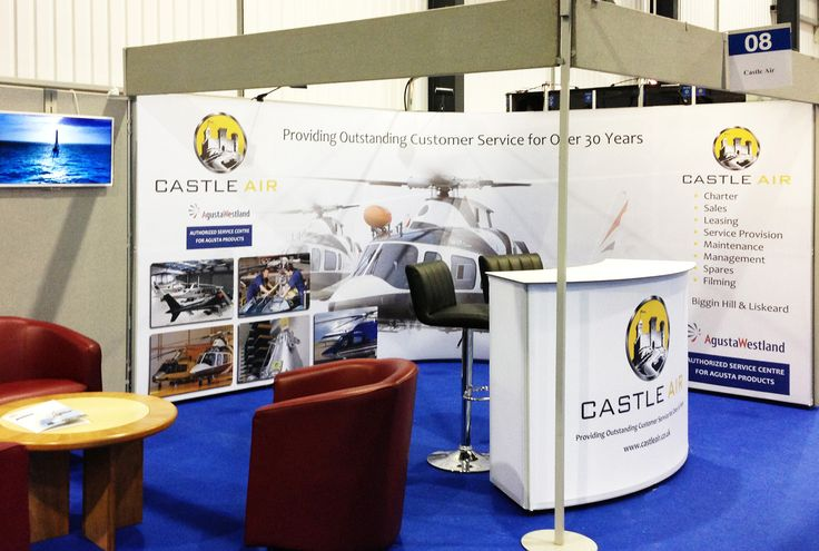 Exhibition Stand Wraps : Simple shell scheme wrap for client self build at various