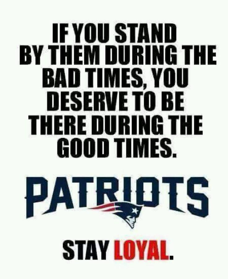 To all of #PatriotsNation