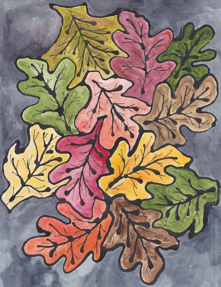 Here's a new picture I'm experimenting with: (1) First I fit the leaves into each other like the M.C. Escher bird picture ( tessellation...