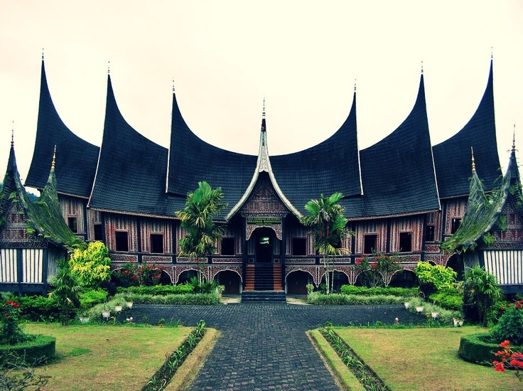 Basa PagaruYung Palace, Royal Palace of the Minangkabau, Sumatra