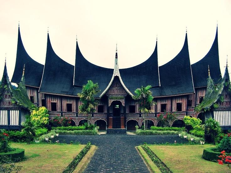 Basa PagaruYung Palace, Royal Palace of the Minangkabau, Sumatra