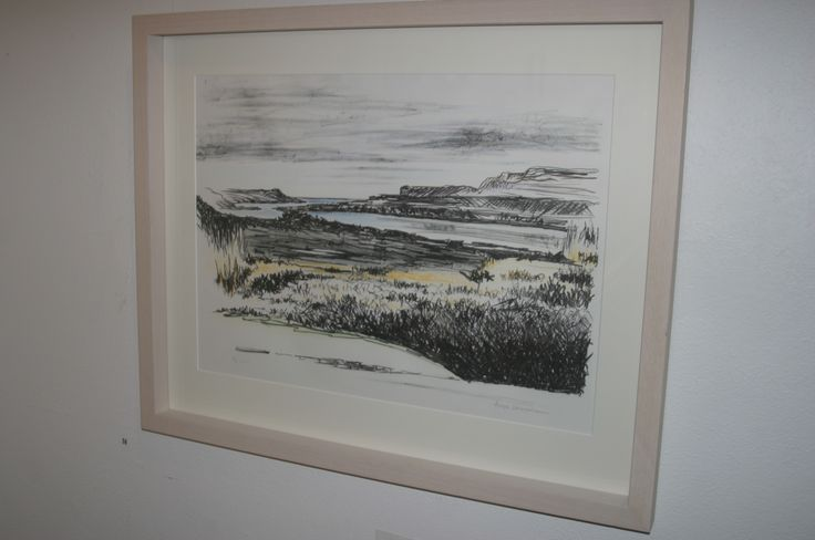 14- Angie Shanahan, Coastline, Lithograph, Hand Tinted, €425