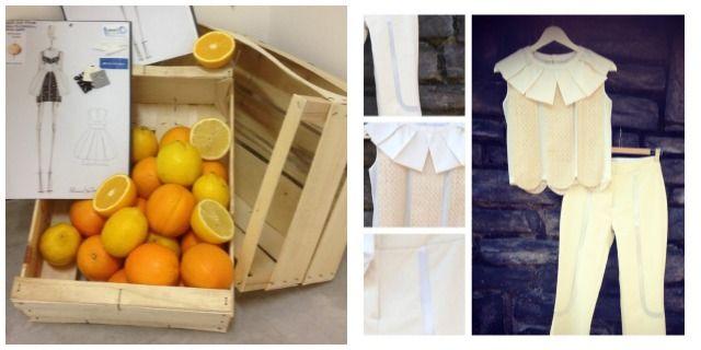 Orange Fiber e Moda sostenibile | Dagli scarti delle arance agli abiti da passerella. Chiara Pompa