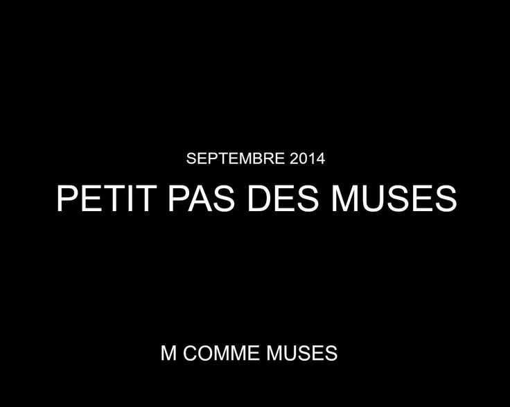 Petit pas des Muses - Septembre 2014