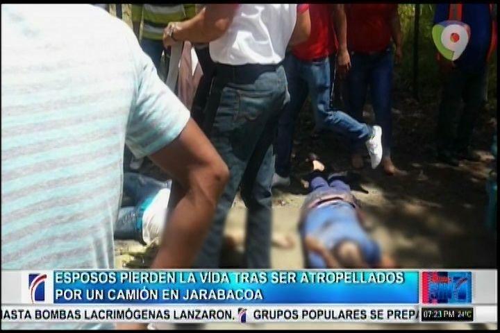 Pareja De Esposos Pierden La Vida Tras Ser Atropellados En Jarabacoa