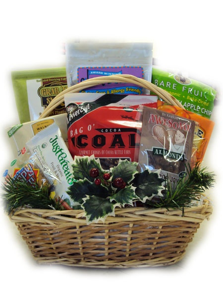 24 best christmas gift baskets images on pinterest christmas gift gluten free christmas gift basket negle Image collections