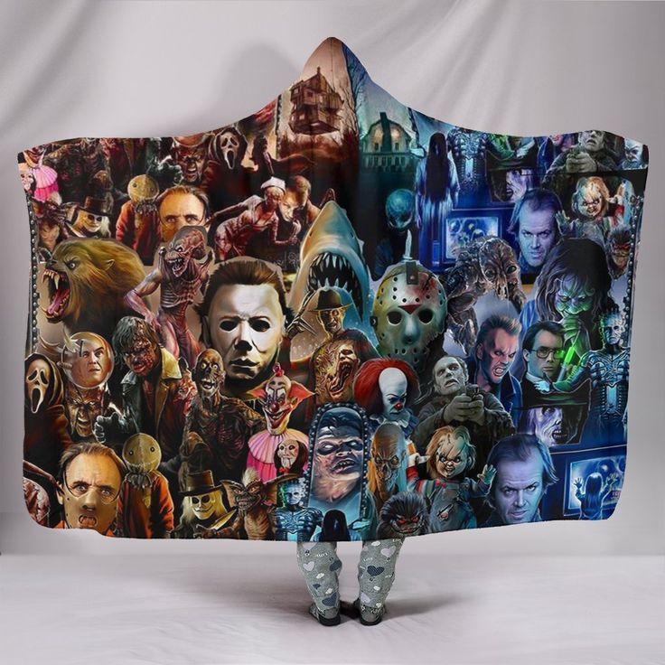Horror characters hooded blanket hooded blanket horror