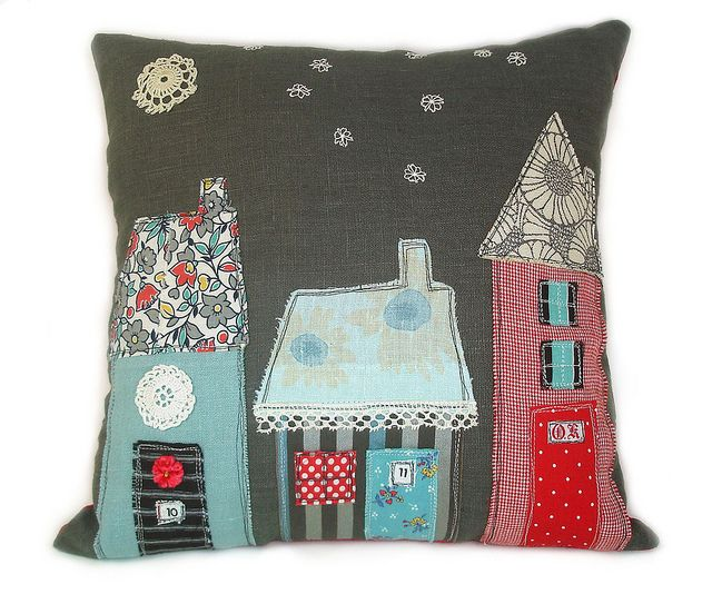 fantastic idea for a cushion