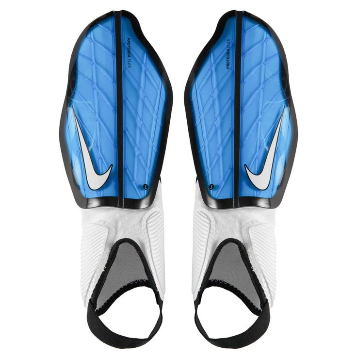1: Scheenbeschermers blauw NIKE  11,95 Koop  Nike Scheenbeschermers Protegga Flex Motion Blur - Blauw/Zwart/Wit voor slechts 11,95 EUR! Bespaar 10% bij www.unisportstore.nl! Gratis bezorging