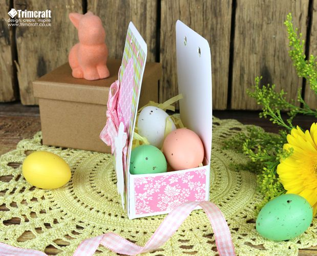 42 best easter project ideas images on pinterest ideas for diy easter gift box tutorial with free template negle