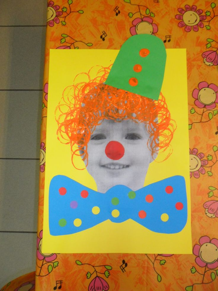 Portrait de clown