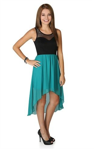Blue high low semi formal dresses the expert