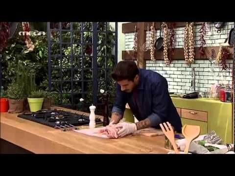 ΚΑΝΤΟ ΟΠΩΣ Ο ΑΚΗΣ: Ψητό γεμιστό στήθος γαλοπούλας - YouTube
