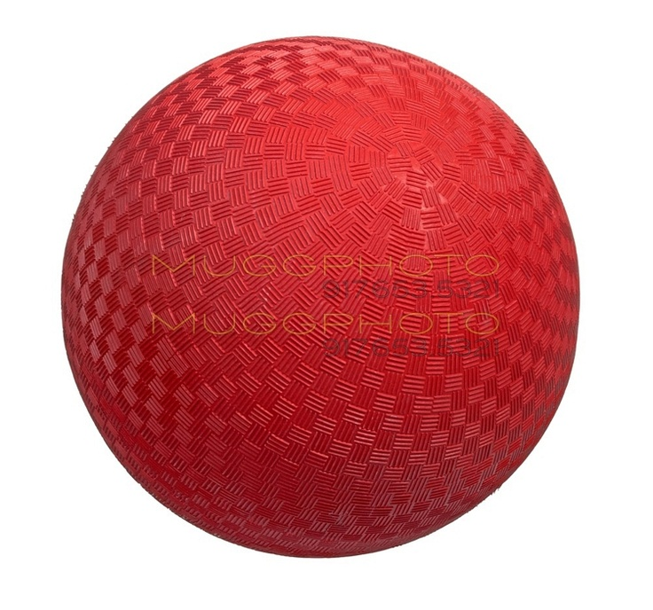 The icon of youth. The kickball.