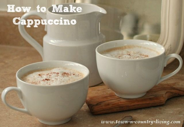 How to Make Cappuccino without a Machine