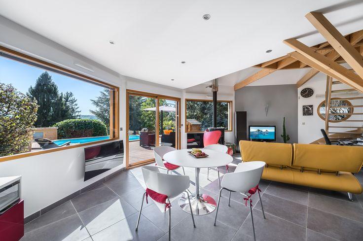 21 best Maison contemporaine polygonale ossature bois images on