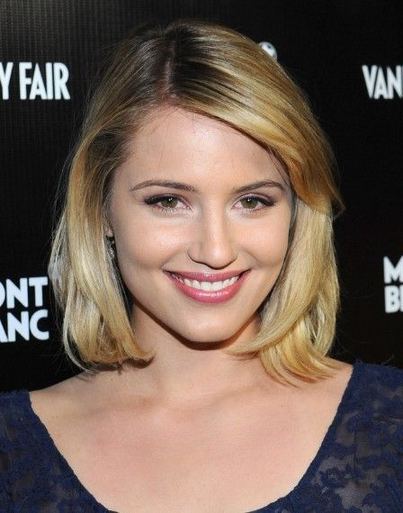 Dianna Agron Bob Hairstyle// Time to even up my bob?