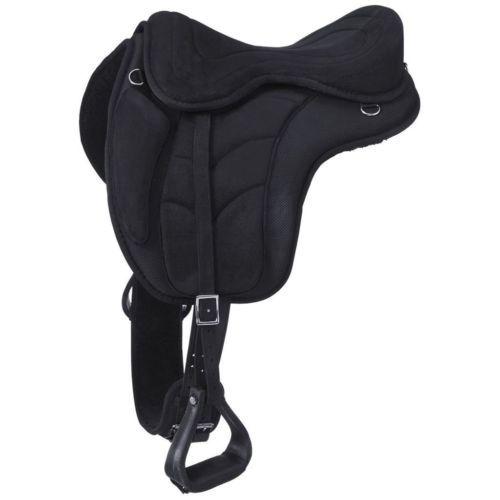 Tough-1-Saddle-Treeless-Endurance-Trail-Show-Horse-Large-Blue-ES7515