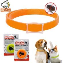 Silicon Dog Cat Flea Collar Health Anti Lice Pest Mosquitoes Collars Kill Lice Parasite Deworming for Small Medium Large Pets(China)