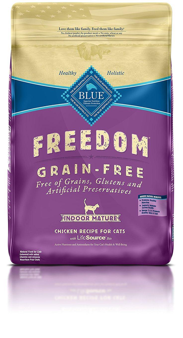 Blue Buffalo Freedom Grain Free Dry Senior Cat Food ** Awesome dog product. Click the image : Dog treats