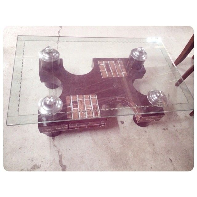 For Sale Center Glass Table Size 80 X 130 Good Condation Price 25 Bd للبيع طاولة وسط زجاج مقاس 80 X 130 بحالة مم Desk Phone Corded Phone Landline Phone