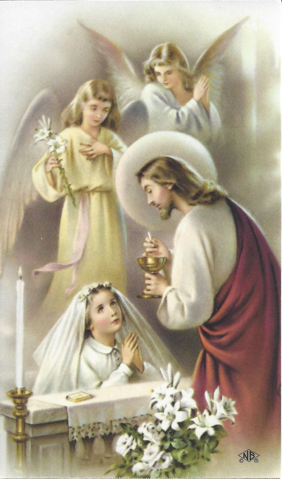 First Holy Communion Keepsake These Are Beautiful Cromo