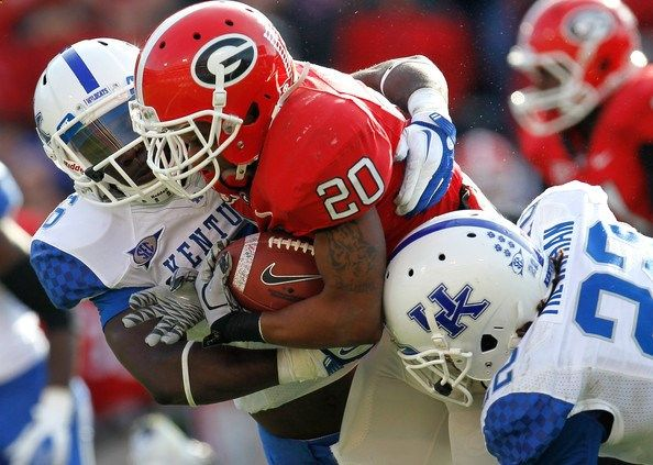 NCAA Football Betting: Free Picks, TV Schedule, Vegas Odds, Kentucky Wildcats vs. Georgia Bulldogs, November 7th 2015