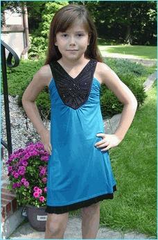 Sally Miller So Cute Beaded Bodice Teal Knit Mini Dress