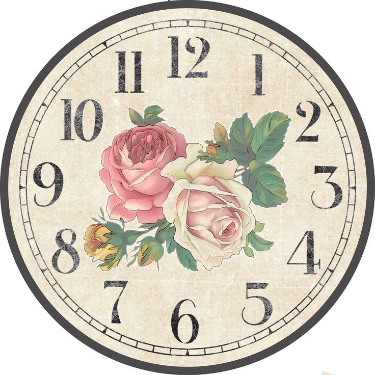 Картинки для декупажа настенных часов