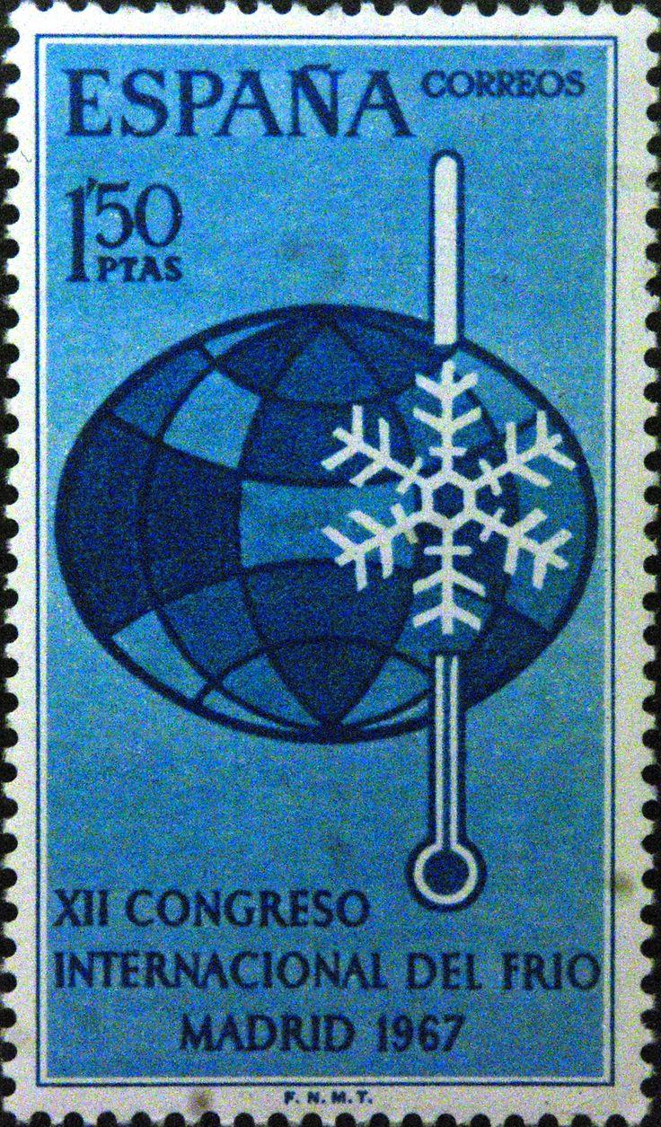 Sellos - XII Congreso Internacional del Frio - Madrid - 1967