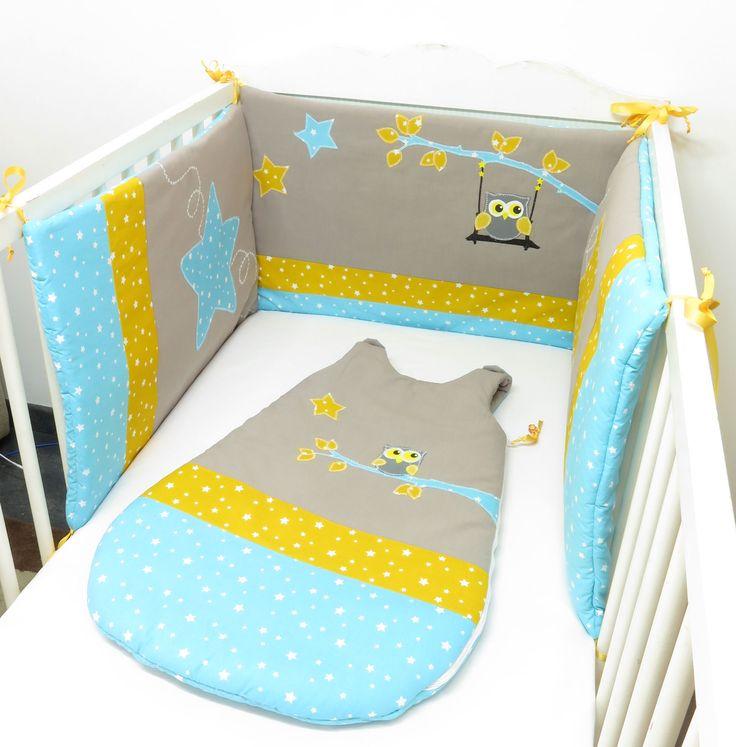 32 best des tours de lit pour votre b b images on pinterest beds being happy and blankets. Black Bedroom Furniture Sets. Home Design Ideas