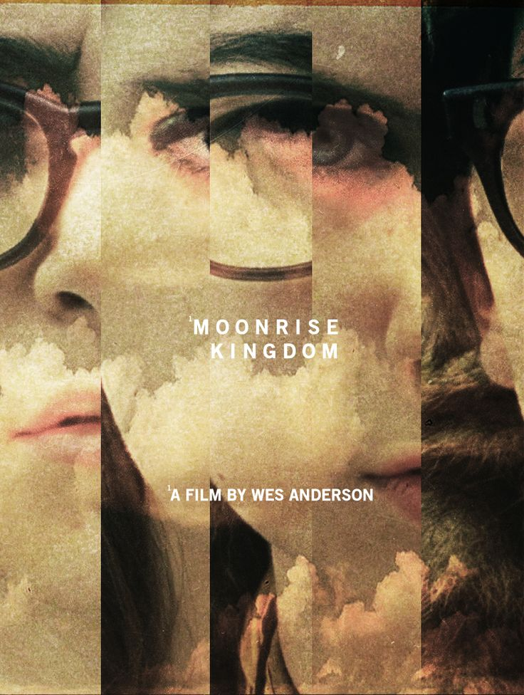 "Moonrise Kingdom ""combining all the photographs from one series to make a full cover photo"""