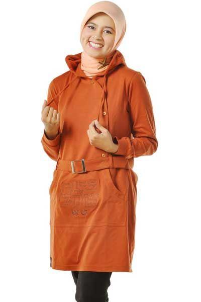 #Blus dengan warna coklat bata dilengkapi #cappucon dan #belt untuk mempercantik penampilan, berminat? grab it fast :)