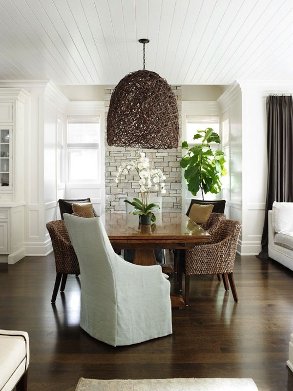 bohemian home accents/ furniture | ... Ceiling Light | Home Decor Trend | White Orchid | Rattan Furniture: