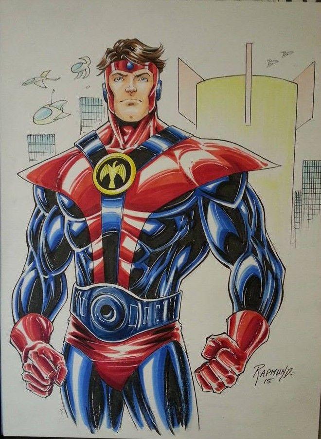 colossal boy gim allon by norm rapmund legion of super heroes