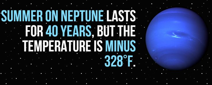 The Wonders of Neptune  This equates to just about -200C. Rather cold, no matter what way you look at it. To learn more amazing facts about Neptune, see: http://www.fromquarkstoquasars.com/?p=16313