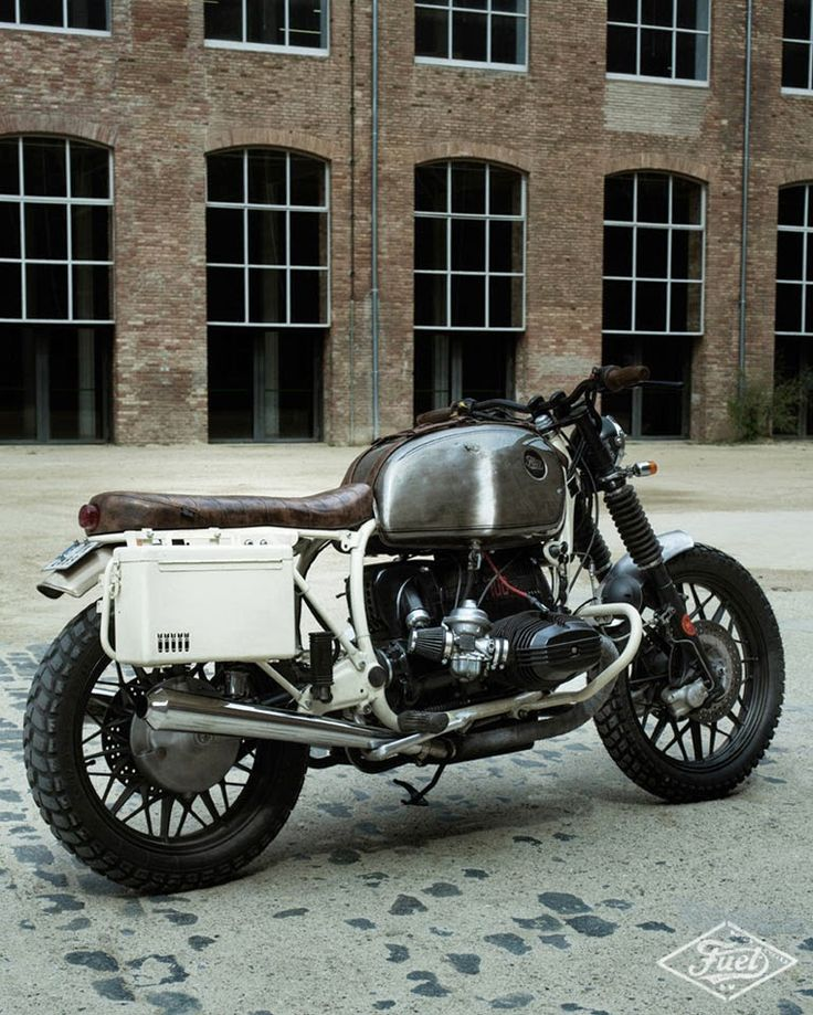 GasCap Motor's Blog: Fuel R100 Strasse, a BMW R100 RS from 1979