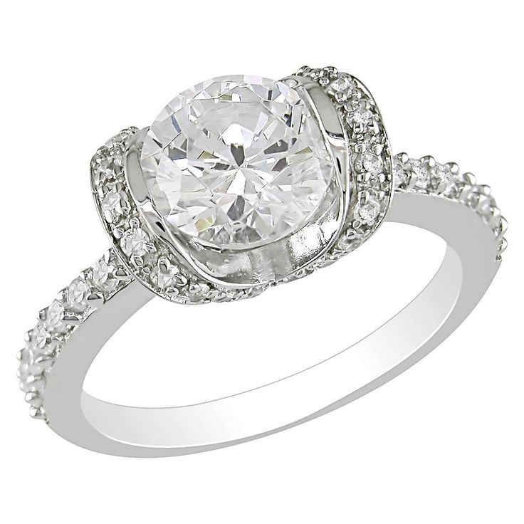 Best 20+ Cubic Zirconia Engagement Rings Ideas On