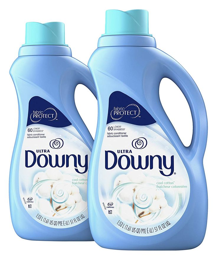 Downy Ultra Cool Cotton Liquid Fabric Conditioner 2 Count 51 Fl
