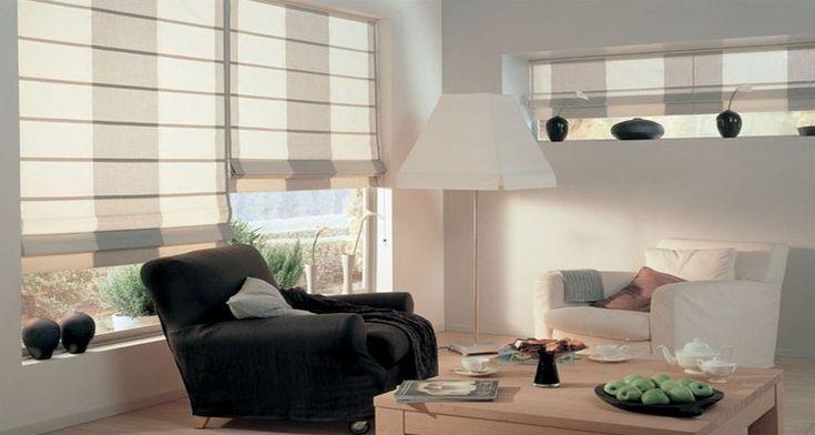 Римские шторы-как подобрать шторы для гостиной, какие модели римских штор создадут интимную атмосферу в спальне, какие римские шторы подходят для кухни 35 фото