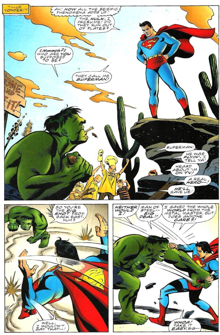 Incredible Hulk vs Superman Full - Read Incredible Hulk vs Superman Full comic online in high quality