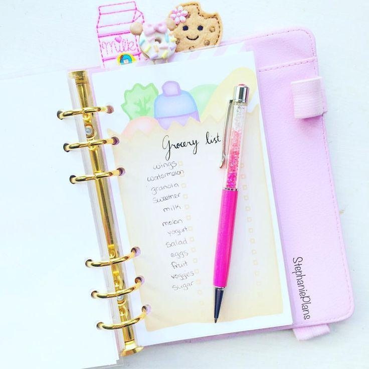 "Stephanie on Instagram: ""Saturday's are for the gym and grocery shopping  #planner #plannergeek #plannergirl #plannerlife #plannerlove #planneraddict #planners #plannergoodies #plannersupplies #plannerobsessed #kawaii #kikkik #kawaiiplanner #kikkikplanner #kikkikplannerlove #filofax #filofaxlove #filofaxaddict #lovedoki #dokibook"""