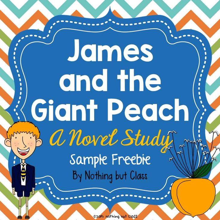 *FREE* This is a 6 page sample of my novel study for James and the Giant Peach by Roald Dahl. This is part of a 125-page novel study, which includes chapter-by-chapter analysis, 31 additional Common Core aligned resources, Culminating Project Choices, and more! It is a well-rounded, no-prep unit that will engage your students and sharpen their reading skills. Download this free sample today. If you like what you see, purchase the complete novel study!