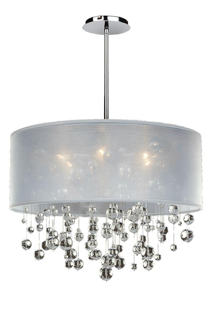 Silhouette Pendant By Glow Lighting 590bd21sp W 7c Chandeliercrystal