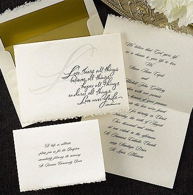 8 best Christian Wedding Invitations images on Pinterest Christian - new sample letter invitation religious event