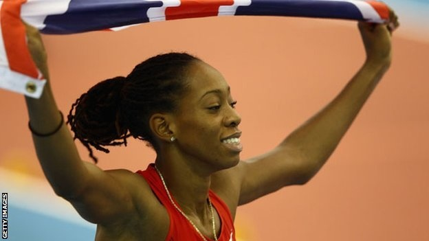Shara Proctor from Anguilla representing GreatBritain. Anguilla ( /æŋˈɡwɪlə/ ang-gwil-ə) is a British overseas territory in the Caribbean. It is one of the most northerly of the Leeward Islands in the Lesser Antilles, lying east of Puerto Rico and the Virgin Islands and directly north of Saint Martin.