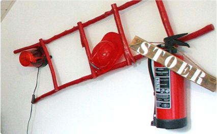 In bed met brandweerman Melle