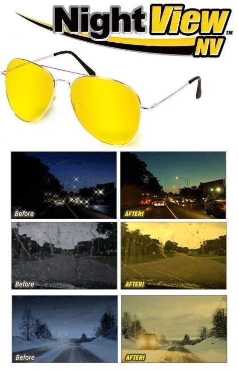 Éjszakai Szemüveg a biztonságos vezetéshez, autósok számára kifejlesztett, főként...