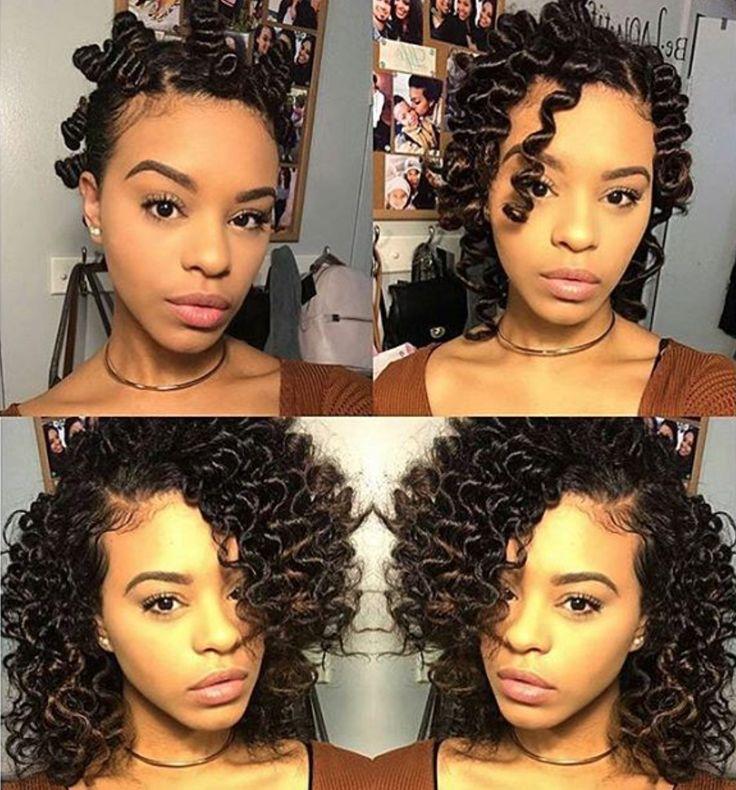 Sensational 1000 Ideas About Natural Black Hairstyles On Pinterest Black Short Hairstyles For Black Women Fulllsitofus